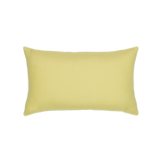 Elaine Smith Octagon Citrine Lumbar pillow, back