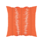 Elaine Smith Gladiator Coral toss pillow