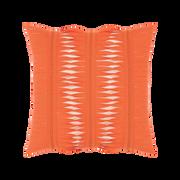 Elaine Smith Gladiator Coral toss pillow