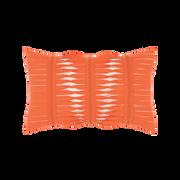 Elaine Smith Gladiator Coral Lumbar pillow