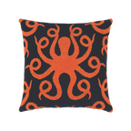 Elaine Smith Octoplush Coral toss pillow
