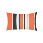 Elaine Smith Riviera Stripe Lumbar pillow