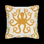 Elaine Smith Octoplush Gold toss pillow