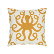 Elaine Smith Octoplush Gold toss pillow