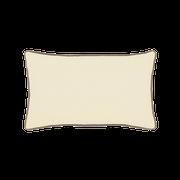 Elaine Smith Jeweled Argyle Lumbar pillow, back