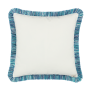 Elaine Smith Dragonfly Pool toss pillow, back