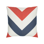 Elaine Smith Regatta Chevron toss pillow