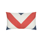 Elaine Smith Regatta Chevron Lumbar pillow