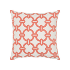 Elaine Smith Hibiscus Hoop toss pillow
