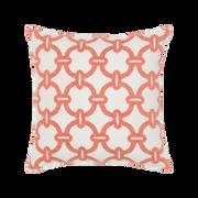 Elaine Smith Hibiscus Hoop toss pillow