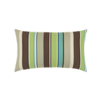 Elaine Smith Landscape Stripe Lumbar pillow