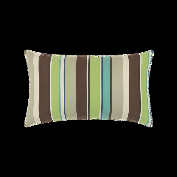 Elaine Smith Landscape Stripe Lumbar pillow