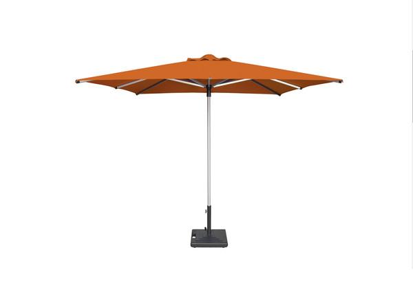 """Shademaker Libra Centerpost 6'6"""" square umbrella"""
