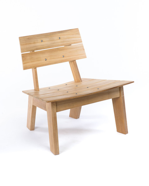 CO9 Design Luna Adirondack Chair in Natural