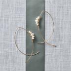 South Sea Pearl Wire Earrings