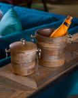 Wooden Ice Buckets