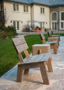 CO9 Design Luna Adirondack Chair in Espresso
