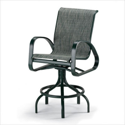 Primera II Sling Counter Height Swivel Chair