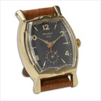 Wristwatch Alarm Square Pierce Clock