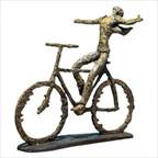 Freedom Rider Sculpture in Sage Green