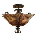 Vetraio  Semi Flush Mount in Oil Rubbed Bronze