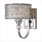 CK Generic Brandon One Light Wall Sconce in Nickel Plated