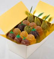 1 lb Ballotin Fruit Gels