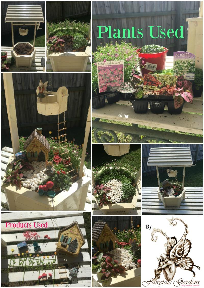 Gnome Garden: Wishing Well Fairy Garden