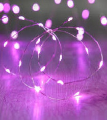 Fairy Lights - Pink