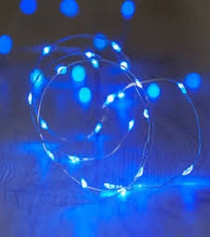 Fairy Lights - Blue