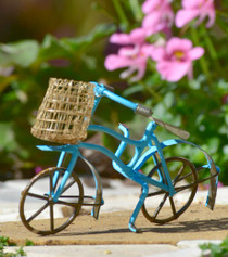 Bike w/Basket - Blue