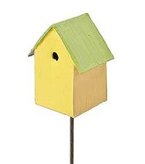 Summer Colored Birdhouse