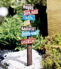 Garden Rd Sign