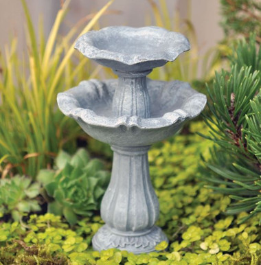 Double Bird Bath