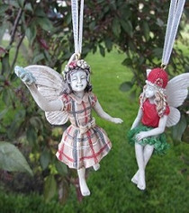 Santa's Fairy Ornament x1