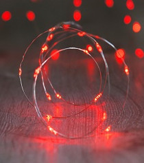 Fairy Lights - Red