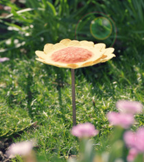 Flower Bird Bath