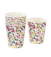 Truly Bunny Floral Cups