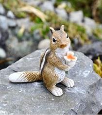 Chipmunk w/Flower