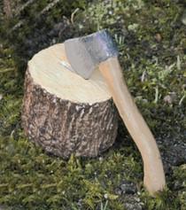 Firewood w/Axe