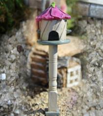 Hollyhock Birdhouse