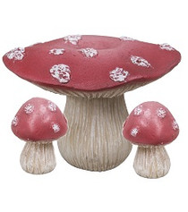 Red Toadstool & Chairs