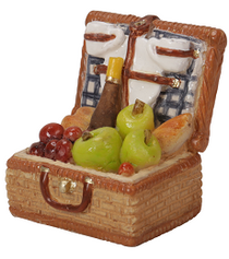 Cottage Picnic Basket