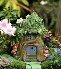 Fairy Garden Tree House  - Solar