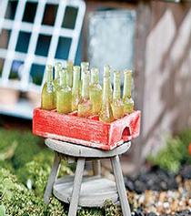 Soda Crate w/ Bottles