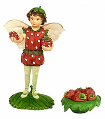Flower Fairies Secret Garden Strawberry
