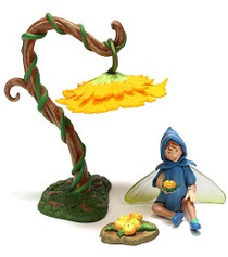 Flower Fairies Scilla Diorama Set
