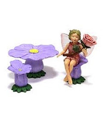 Flower Fairies Rose Diorama Set
