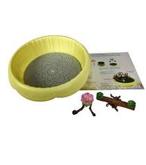 Flower Fairies Pot w/ Teeter Tooter & Birdbath
