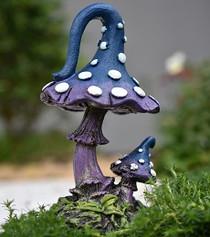 Mystical Mushroom Blue